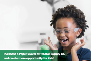 Tractor Supply stores to host 4-H Paper Clover promotion Oct. 7-18