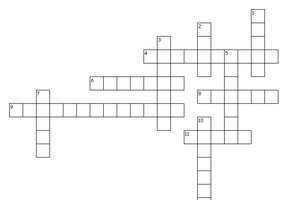 Exercise your brain by completeing the nutrition crossword puzzle.