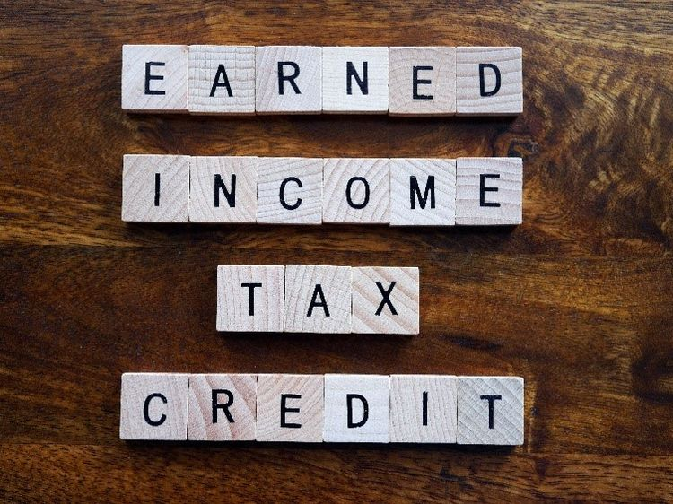 Word tiles spelling out Earned Income Tax Credit