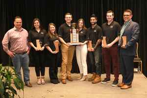MSU students win first place again at the National Association of Home Builders Student Competition
