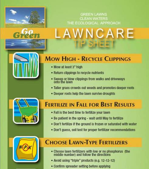 Msu Extension S Lawn Care Tip Sheet Advises Avoiding Fertilization Until May