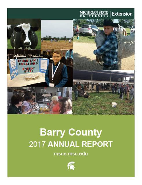 Cover of the Barry County Annual Report