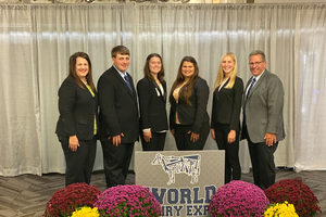 Michigan 4-H members and alumni earn high marks at World Dairy Expo dairy cattle judging contest