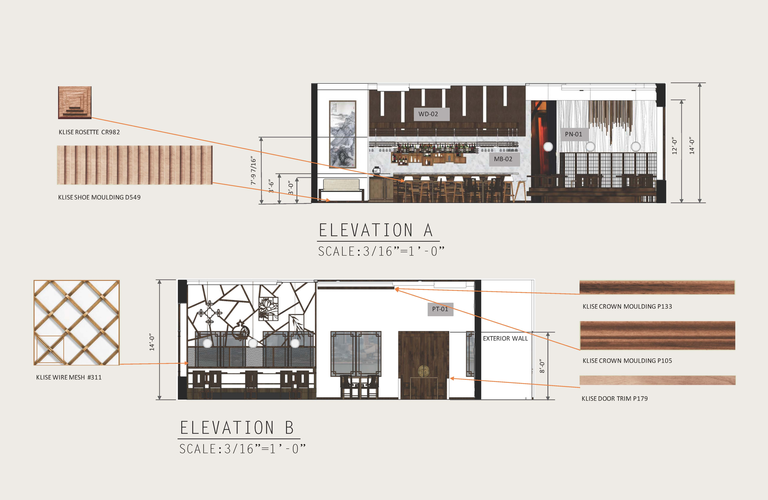 View 1: Rendered Elevations A & B