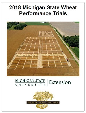 Wheat performance trials.