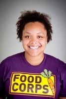 Whitney Smith, FoodCorps service member at the Detroit Black Community Food Security Network (photo credit: FoodCorps.org)