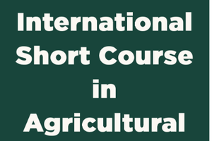 International Short Course in Agricultural Extension 2020