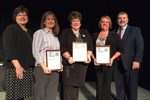 Outstanding volunteers receive MFB 4-H Excellence in Ag awards