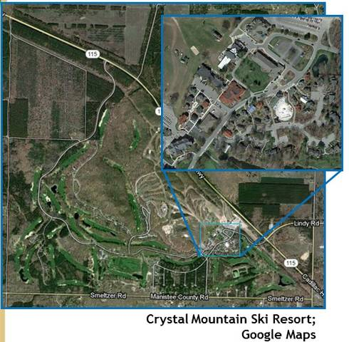 Planned unit development example from Crystal Mountain. Photo credit: Google Maps