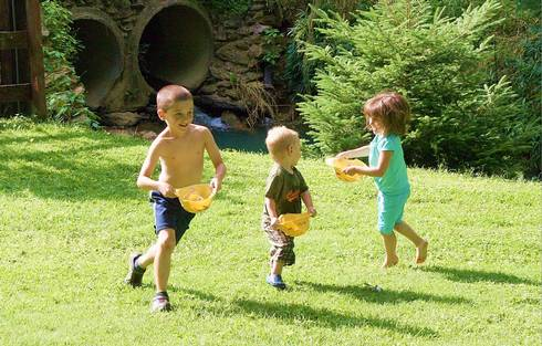 Being outside can be fun and help children learn and build their skills.