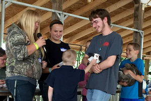 True 4-H science teen leaders: Eaton County