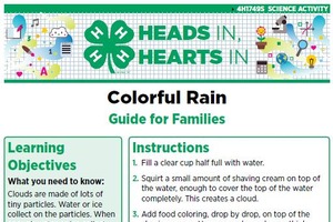 Colorful Rain cover page.