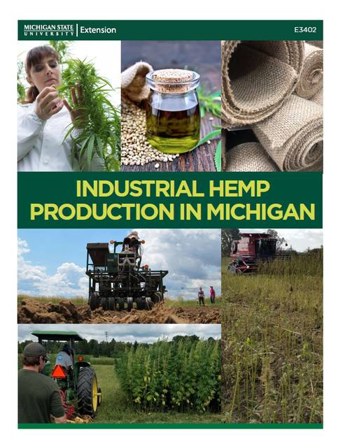 Industrial Hemp Production cover