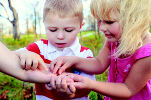 Hands-on learning for young children