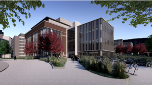 First timber building of its kind in Michigan constructed at MSU