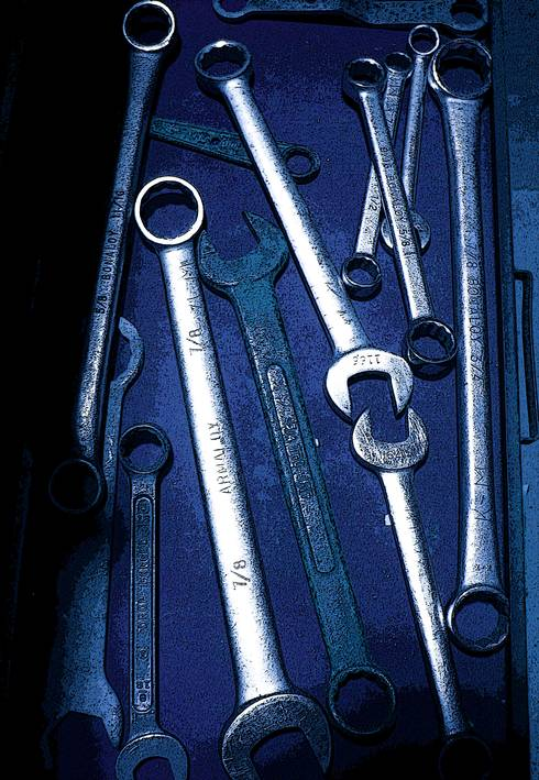 Wrenches.