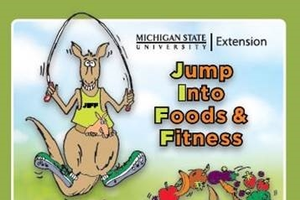 Jump Into Foods and Fitness with youth