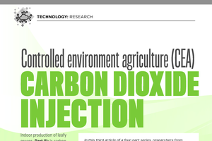 Leafy greens: Carbon dioxide injection