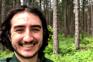 Andy Deleruyelle – Forestry Undergraduate Student Spotlight