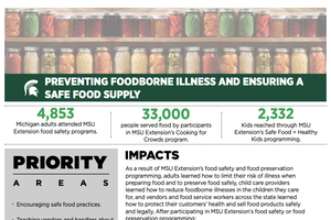 Preventing foodborne illness and ensuring a safer food supply