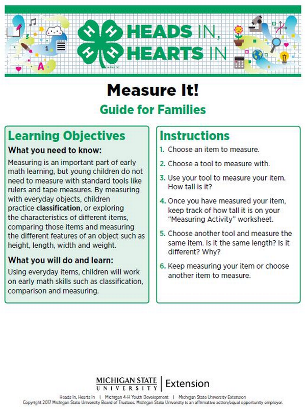 Measure It! cover page