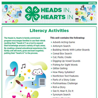 Full Literacy Activity Book cover page.