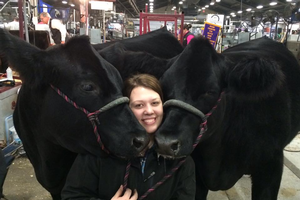 Interactions with animals through Michigan 4-H was an important part of growing up for Brooke Rupprecht. | MSU Extension