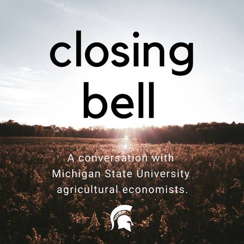 MSU Department of Agricultural, Food, and Resource Economics professors Trey Malone and Aleks Schaefer are hosting an online conversation to discuss the effect the coronavirus global pandemic is having on our food supply chain and the economy.