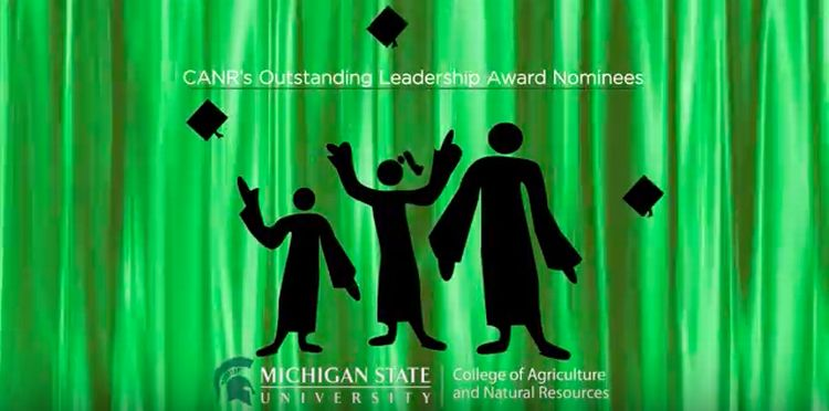 CANR Outstanding Student Leadership Award nominees