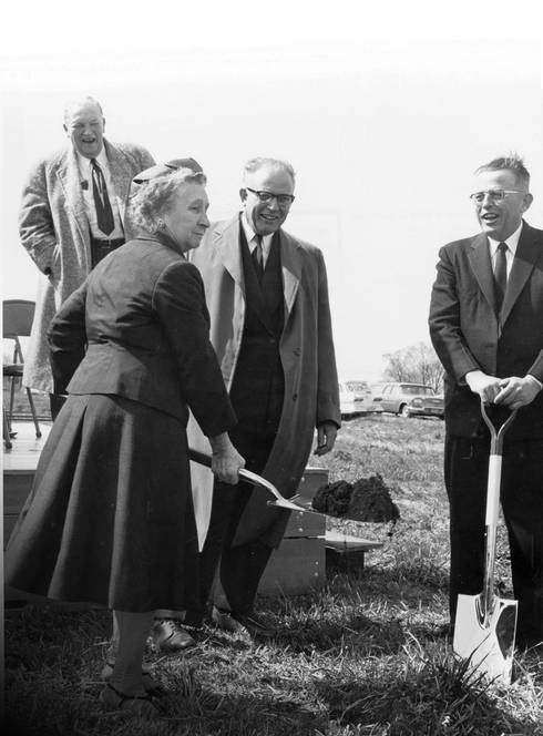 Matilda Wilson groundbreaking at MSU