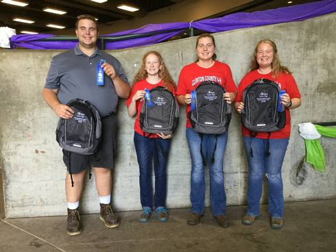 Senior Dairy Management Contest winners