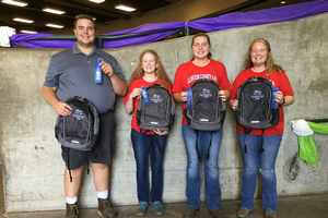 Youth demonstrate dairy knowledge at statewide management contest