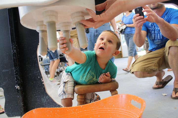 Learn new ways to develop children's senses! Photo credit: ANR Communications | MSU Extension