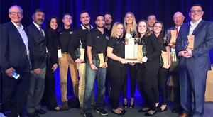 MSU Construction Management program dominates at National Association of Home Builders Show award's ceremony