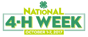 Michigan youth to celebrate National 4-H Week Oct. 1—7