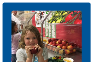 Program boosts amount of local fruits and vegetables in school cafeterias
