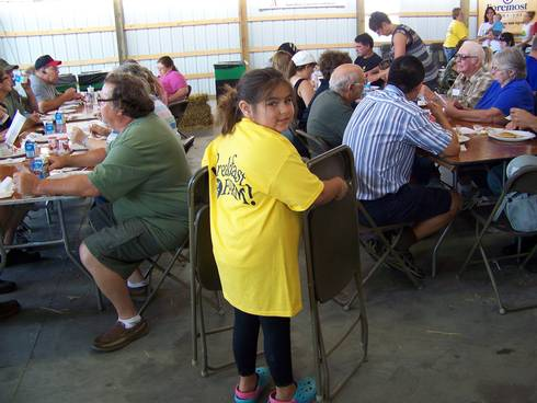Young BOTF volunteer at Wheeler Dairy. Photo credit: Mary Dunckel