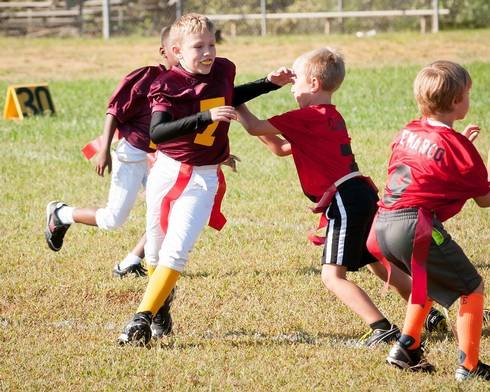 Good sportsmanship is taught.