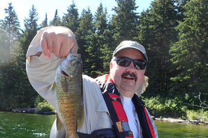 Mark Breederland enjoys fishing, especially when he's successful. Courtesy photo.