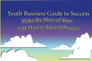 Now available: Youth business guide to success – Make the most of your 4-H market animal project