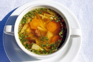 Preserving soups for fall and winter