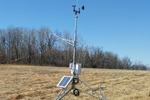 Haslett, Michigan Enviro-weather station.