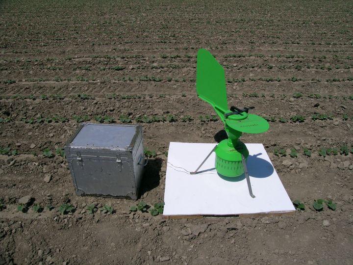 equipment in field