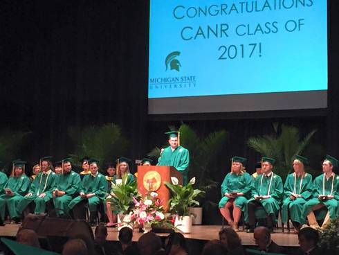 MSU Institute of Agricultural Technology graduates its 123rd class.