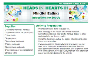 Heads In, Hearts In: Mindful Eating