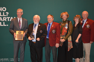 Lion's Club International receives Michigan State University Extension 2019 Key Partner Award