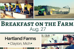 Lenawee County dairy farm to host this summer's last Breakfast on the Farm event Aug. 27