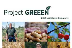 2016 Project GREEEN Legislative Summary Cover