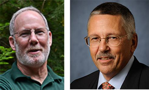 Scott Winterstein (left); F. William Ravlin (right)