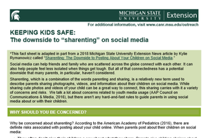 Keeping Kids SAFE: The downside to